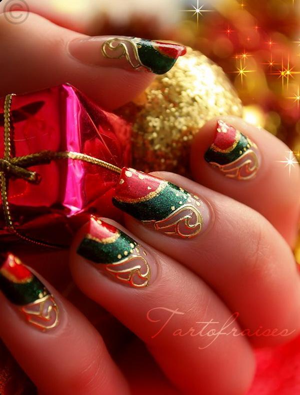 Новинки для ногтей на новый год